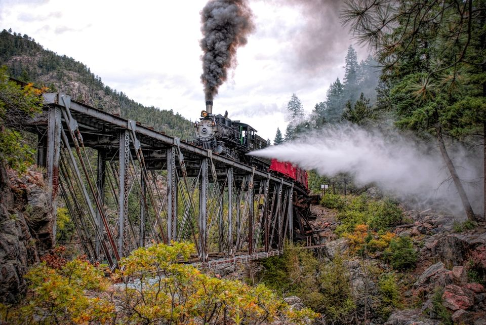 durango silverton, high bridge, 315, drgw , class, c-18, consolidation,