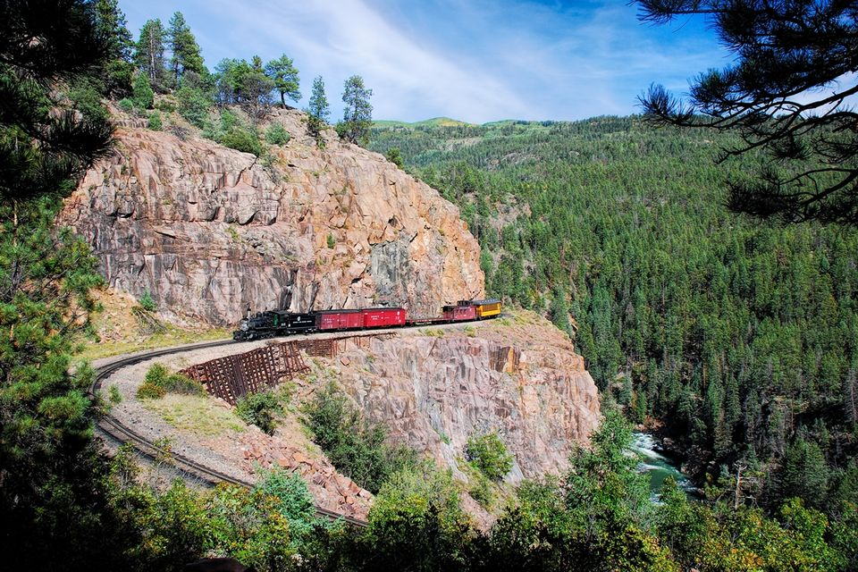 durango silverton narrow gauge railroad, durango silverton train, narrow gauge train, high line, drgw railroad, locomotive 315, durango colorado, narrow gauge railroad, animas river, perfect afternoon