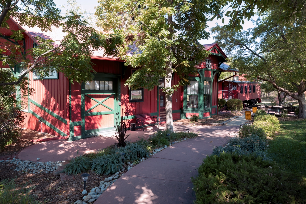 The Caboose Gallery in Littleton Colorado