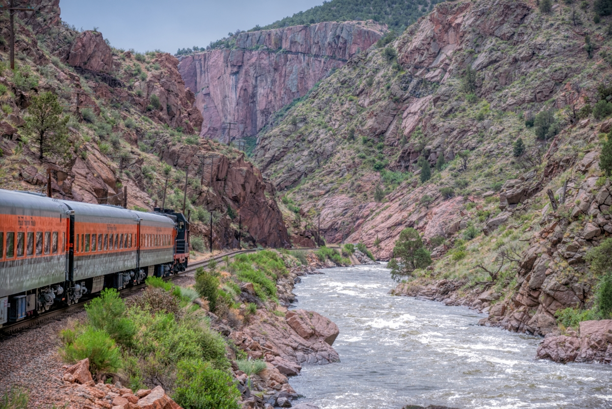 royalgorge, royalgorgecanyon, royalgorgerailroad, passengertrain, train, photo