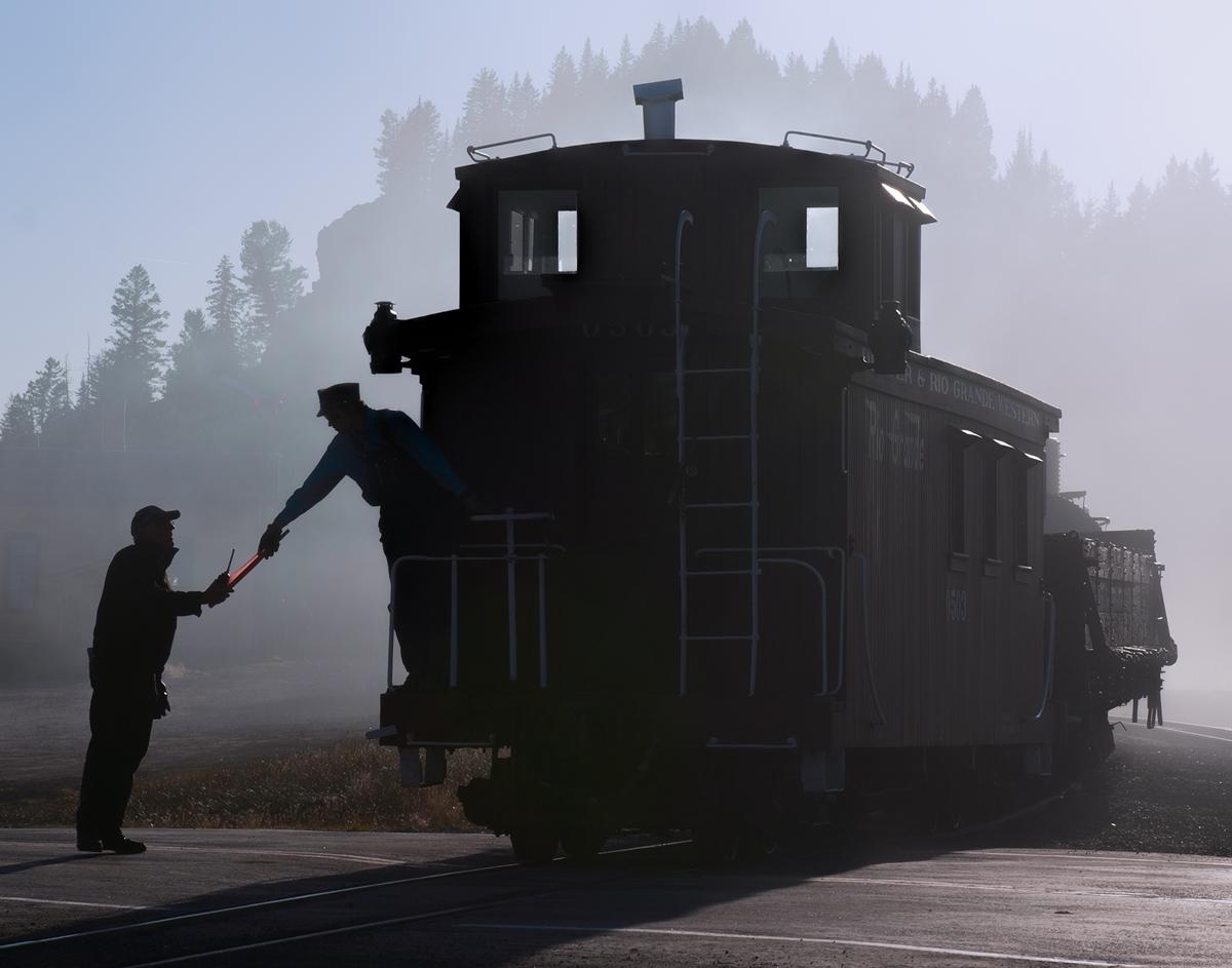 caboose, cumbres, cumbres toltec rr, photo