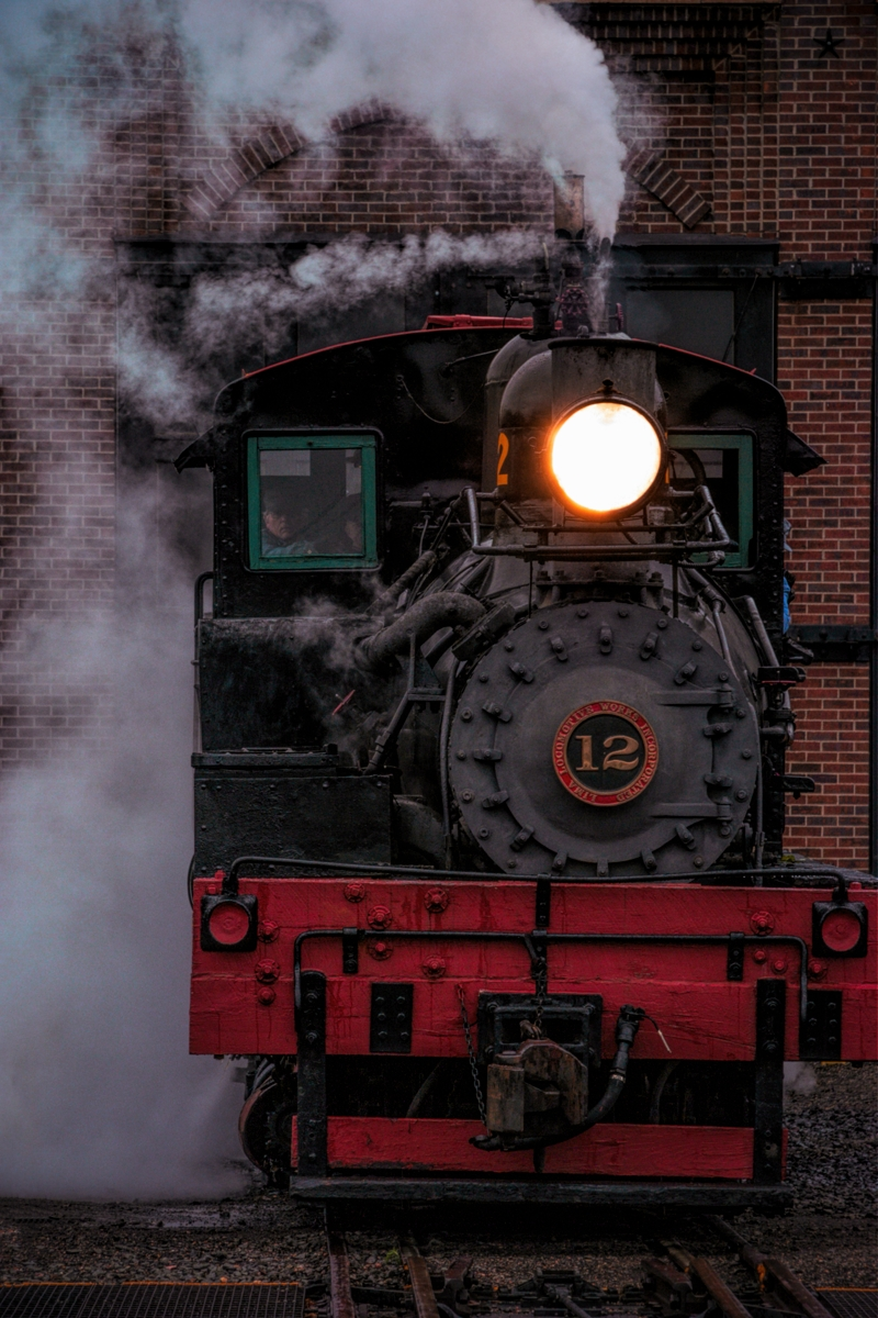 shay, shay locomotive, locomotive, ready, number 12, shay number 12, work, day, photo