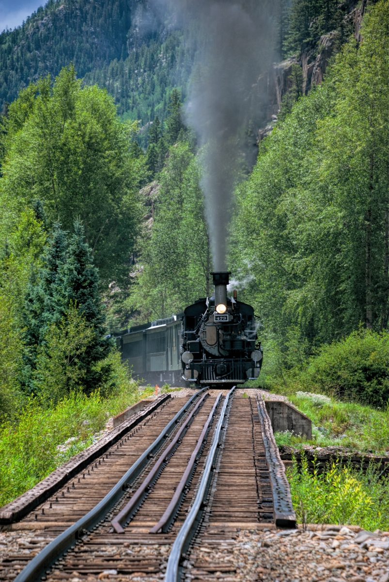 durangosilverton, colorado, narrowgauge, railroad, photo