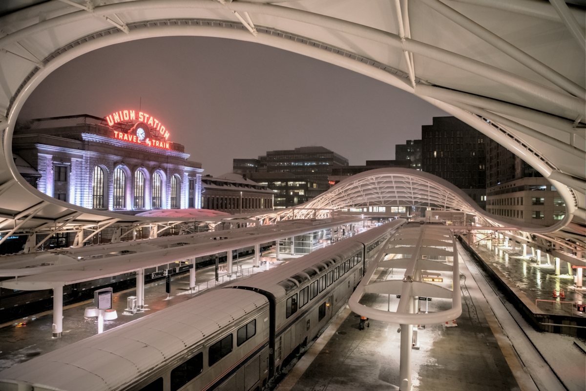 denver union station, denver, downtown, passenger station, photo
